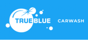 True Blue Car Wash Logo