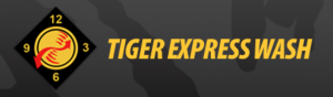 Tiger Express Wash Logo